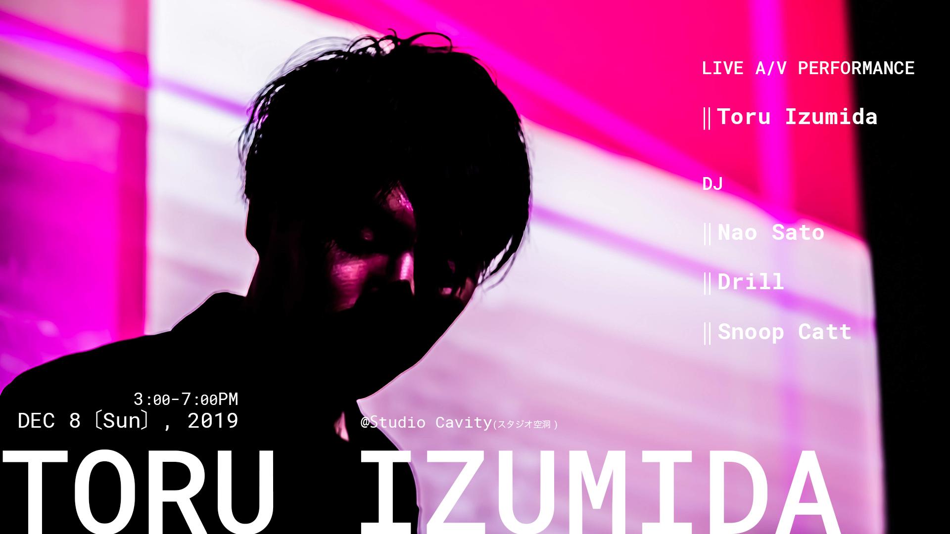 Toru Izumida - Live A/V Performance