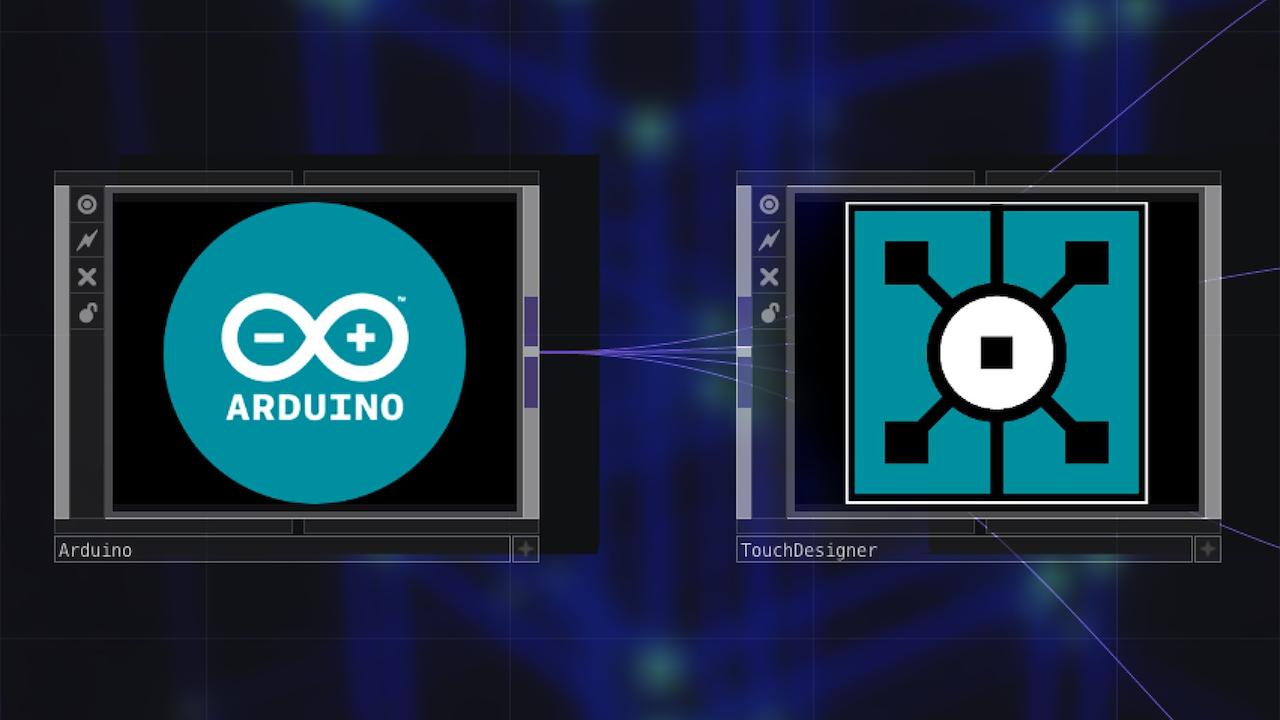 Interaction with Arduino and TouchDesigner Online Workshop